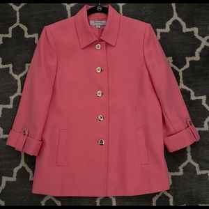 Tahari pink blazer